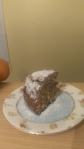 The end result, whole orange cake